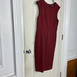 Express 12 dress pencil sleevless womens euc